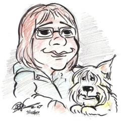 Daryls Art  Self-Caricature